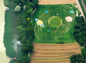 Ex Ornamentis Labyrinth Sonnensystem