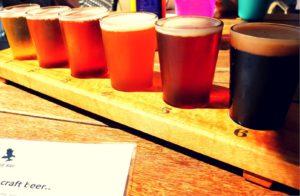 Verschiedene Craft Beer-Sorten © Tamara Leaver